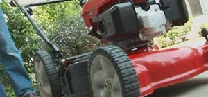Tune up a walk-behind lawnmower with Lowe's