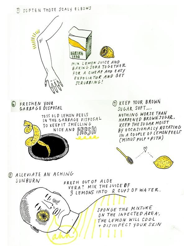 10 Extraordinary Uses for the Ordinary Lemon
