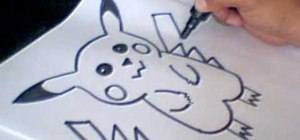 Draw a Pikachu Pokemon