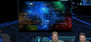 Navigate sector space when you're flying through Star Trek Online