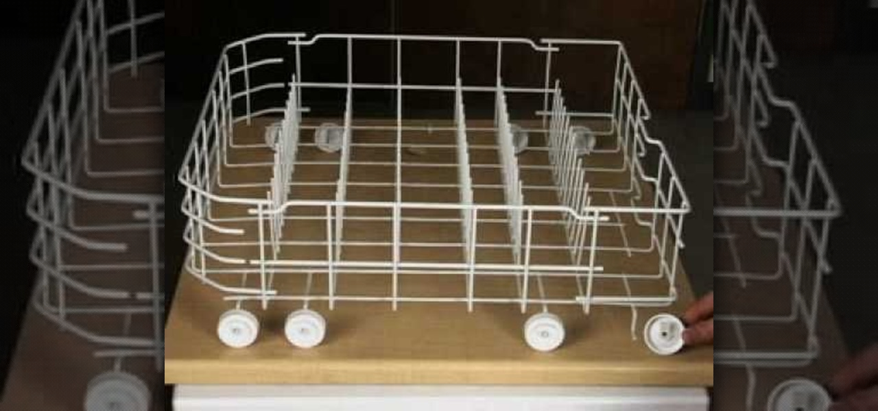 How To Install Lower Rack Wheels For A Ge Dishwashers