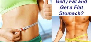 Lose belly fat through exercise and diet knowledge