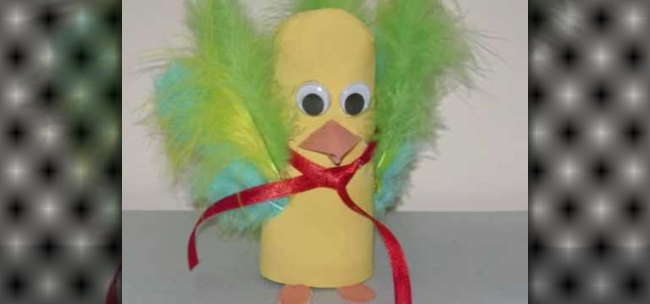 How to craft a toilet paper roll bird with your kids for How to use toilet paper rolls