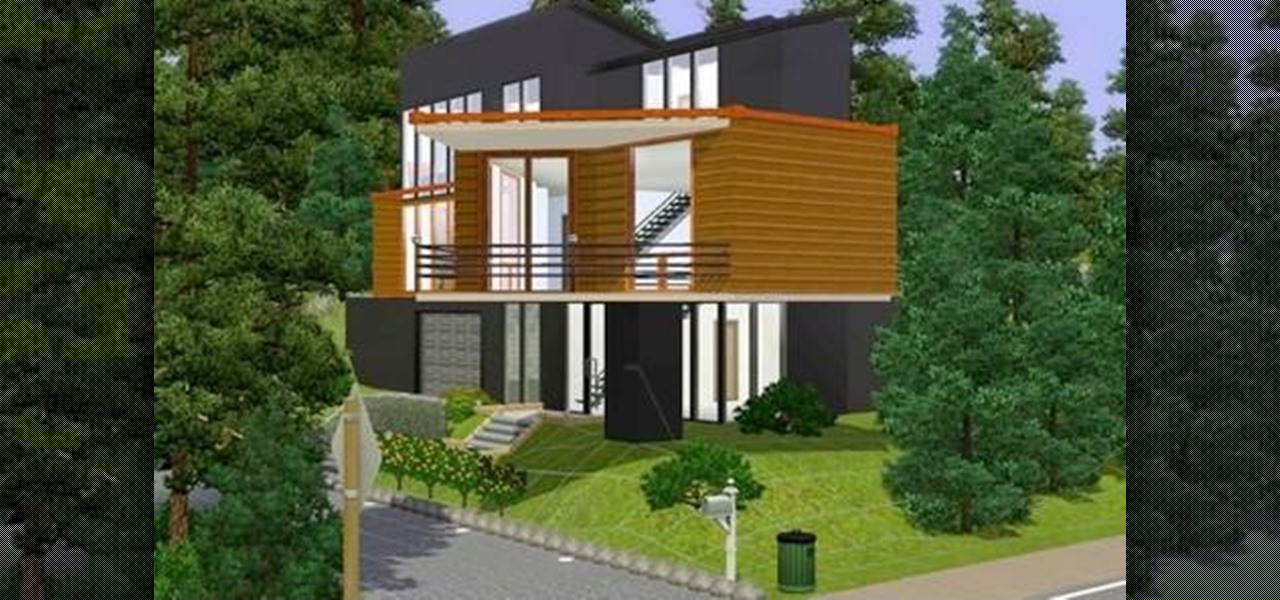 How to build a replica of the house from twilight in sims 3 pc games wonderhowto Create a house game