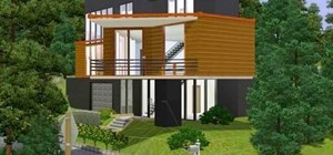 Build a replica of the house from Twilight in Sims 3