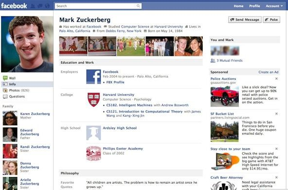 How to Get the Newly Updated Facebook User Profile Page Today