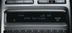Receive favorite alerts using Ford SYNC