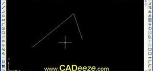 Draw and edit in AutoCAD 2008