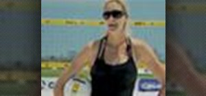 Power up your volleyball serve like Kerri Walsh