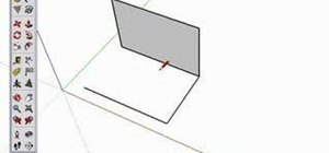 Use the line tool in Google SketchUp