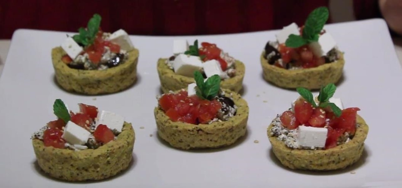 Make Feta Cheese Cups with Herbs