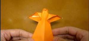 Origami an angel