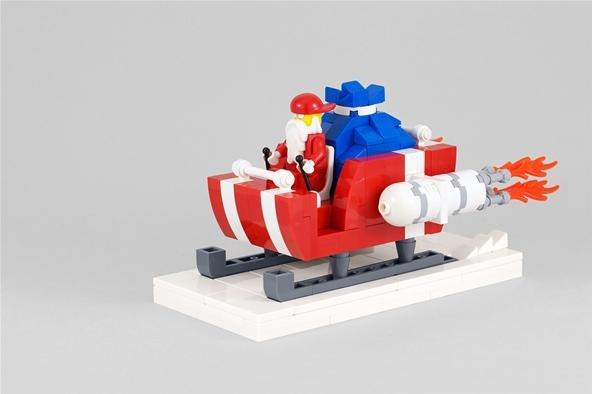 Family Advent Calendar, Day 7: Lego Christmas Party! Lego