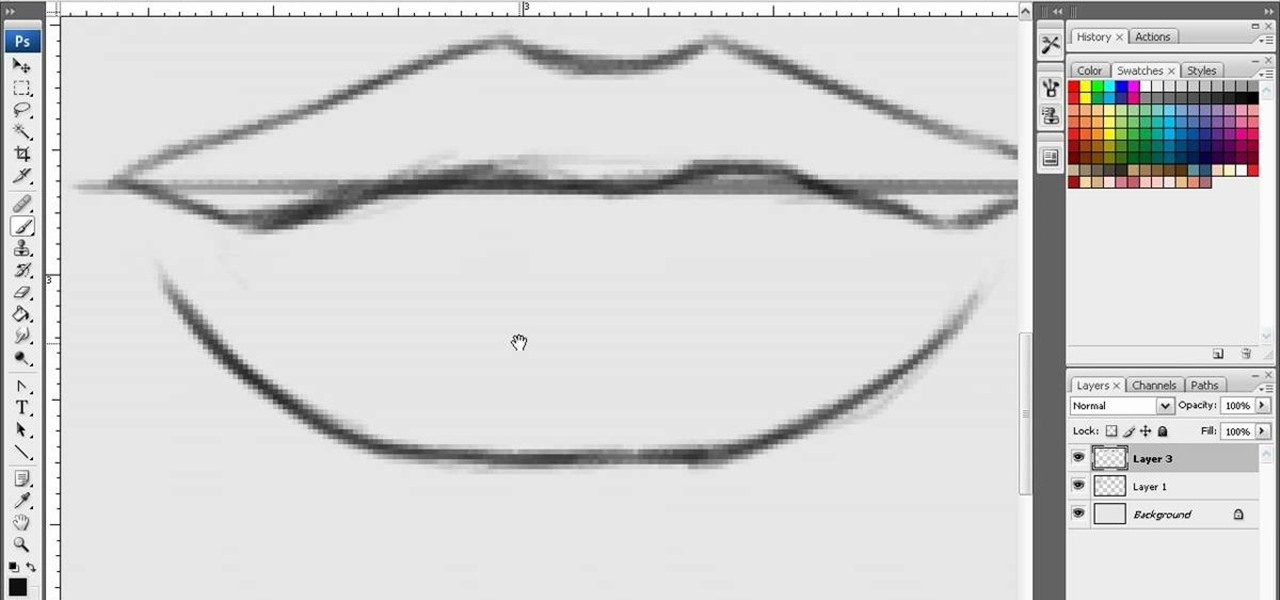 how to draw sexy lips in photoshop  u00ab photoshop    wonderhowto