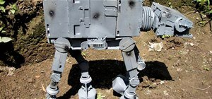 AT-AT Made with Spare Computer Parts