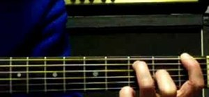 """Play """"Californication"""" by RHCP on guitar"""