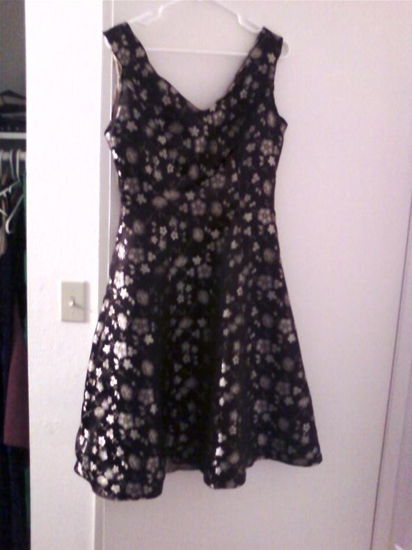Laura Ashley 1950s style dress