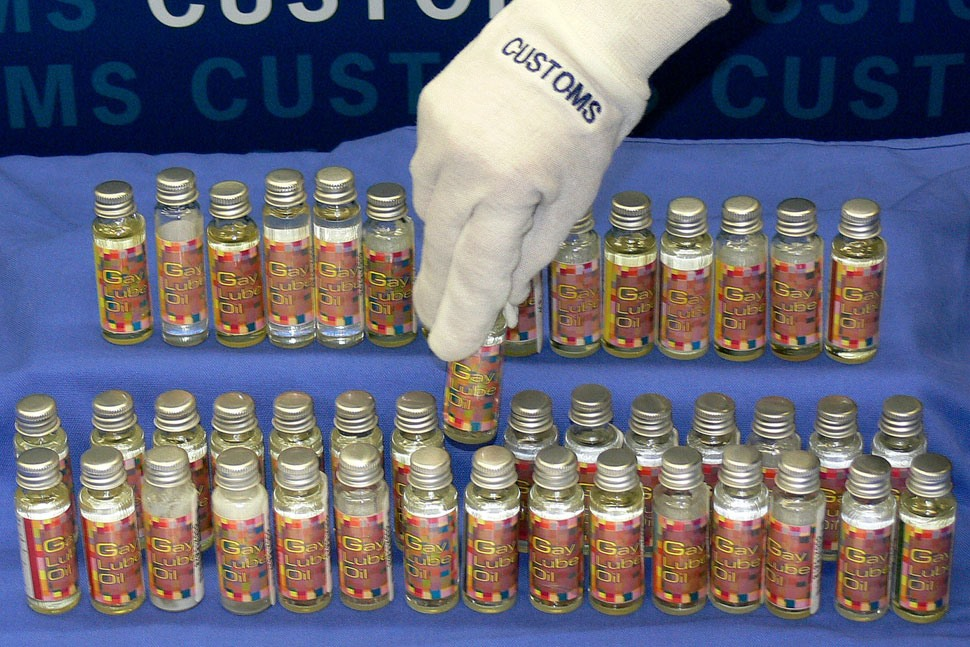 De-Pantsed! Nasty Contraband Seized By Airport Security (Yes, Those Are Pigeons)