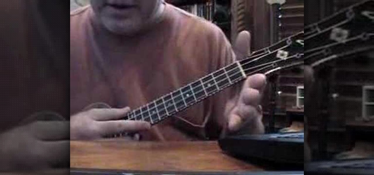 How To Play A B Flat Chord On The Ukulele Ukulele Wonderhowto