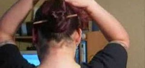 Style your hair in a Chinese Bun