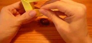 Origami magic rings