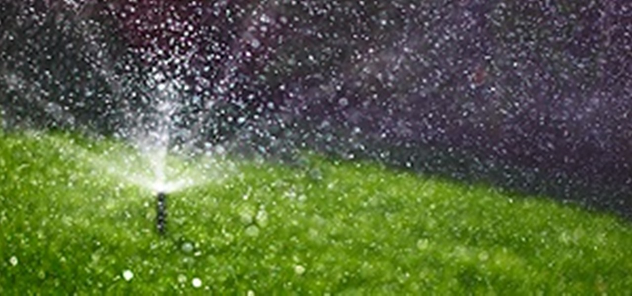 Create A Smart Sprinkler System To Water Your Garden When