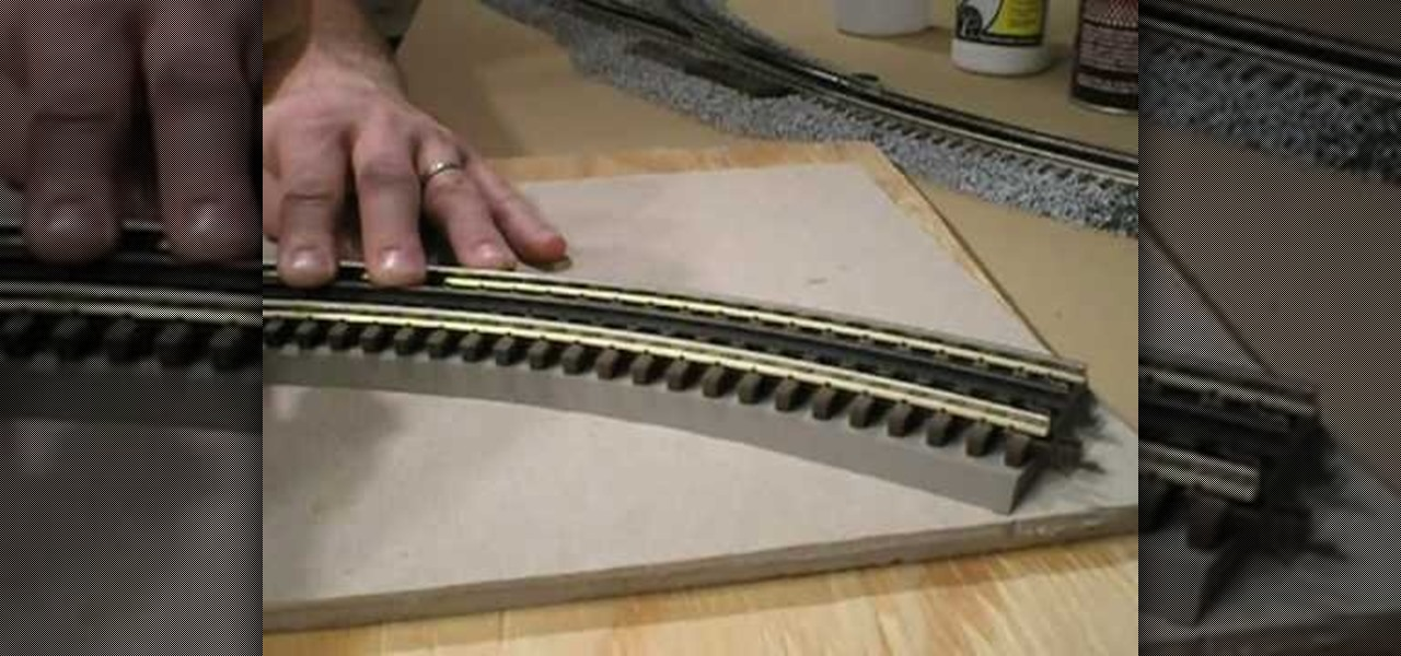 ... Lay and ballast O-Scale 3-Rail track « Model Cars, Rockets & Trains