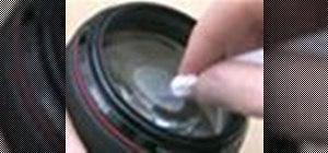 Clean camera lenses safely