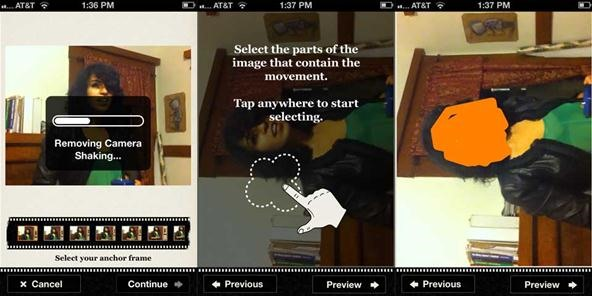 Kinotopic: How to Make Cinemagraphs Using Your iPhone