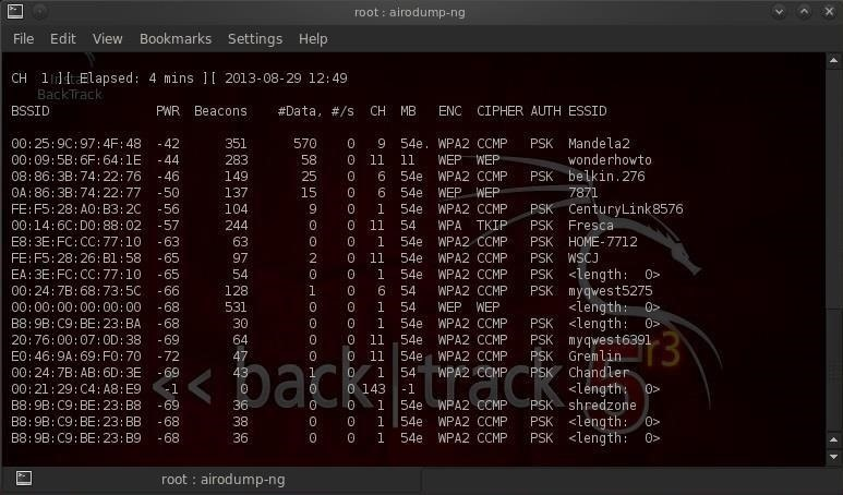 How to Hack Wi-Fi: Cracking WEP Passwords with Aircrack-Ng
