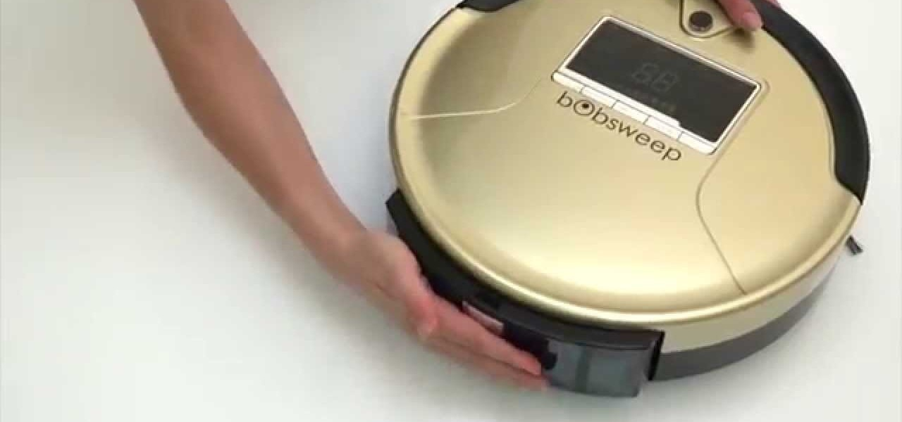 Clean a Bobsweep Robot Vacuum
