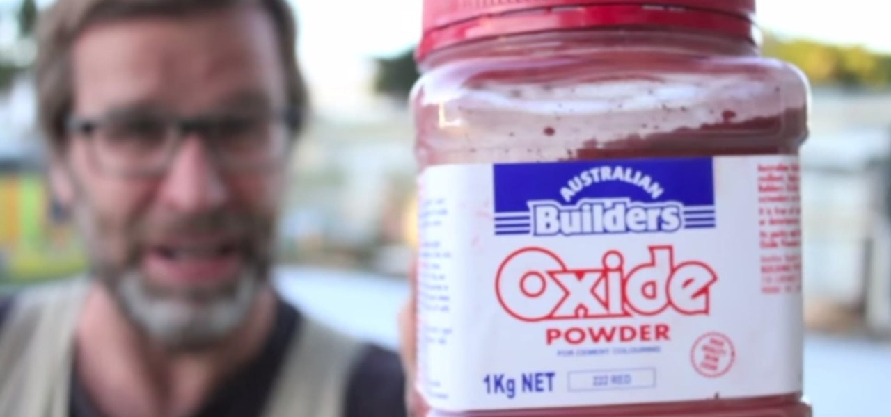 Handy One-Minute Stud Wall Framing Tip: Use Oxide Powder for Chalkline
