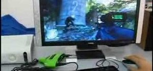 Hook up a keyboard and mouse with XFPS Sniper XBox 360