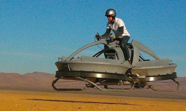 This Real-Life Star Wars Hover Bike Could Be the Future of Personal Transportation