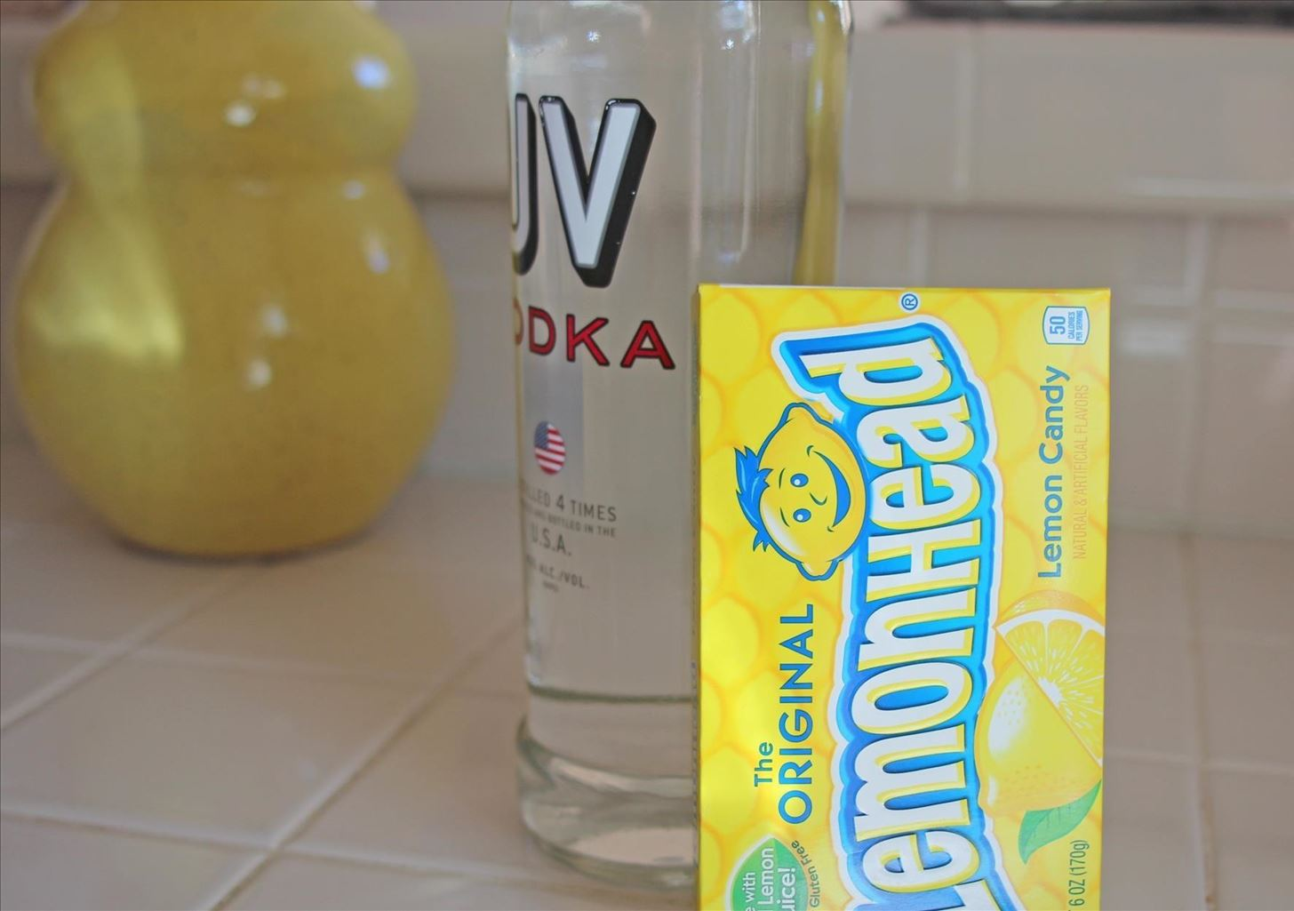 Make Sweet & Sour Lemonhead-Infused Vodka in One Day