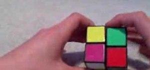 Solve a Rubik's 2x2 Mini Cube