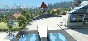 Jump the shark on Skate 3 demo on the Xbox 360