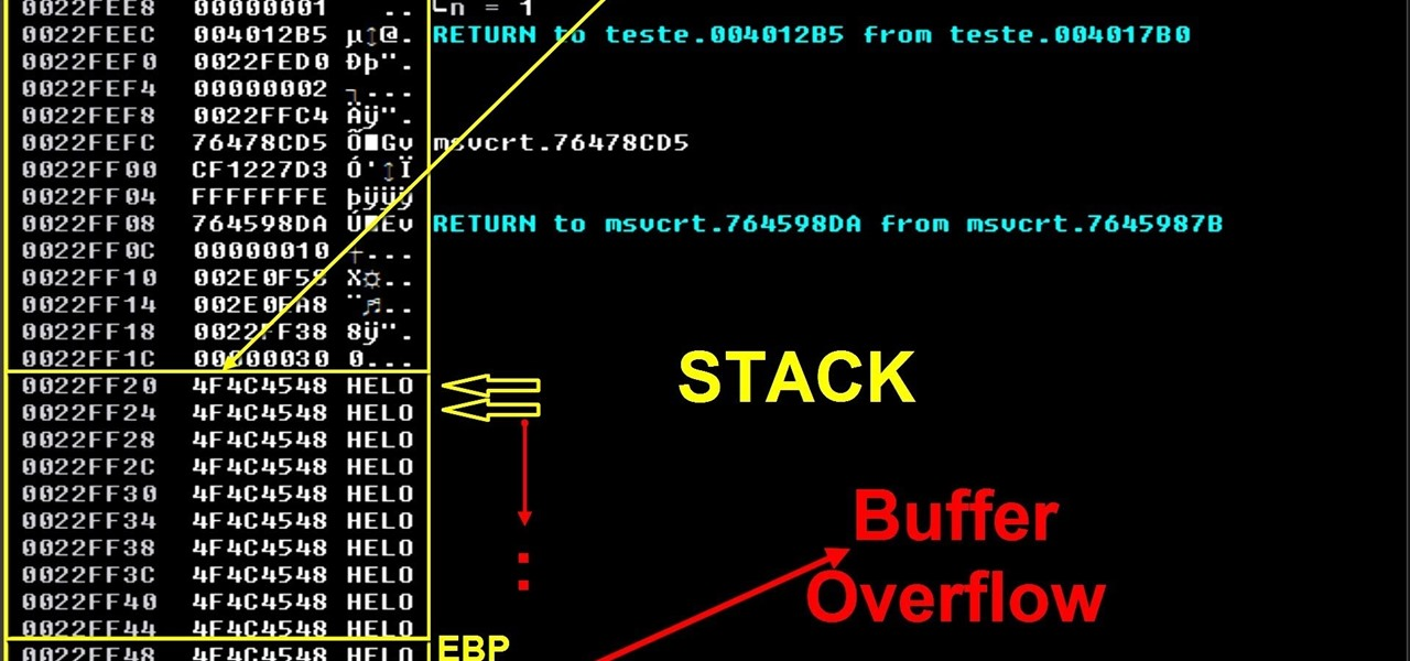 Write a buffer overflow exploit