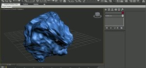 Model a comet or an asteroid in 3ds Max 2010 or 2011