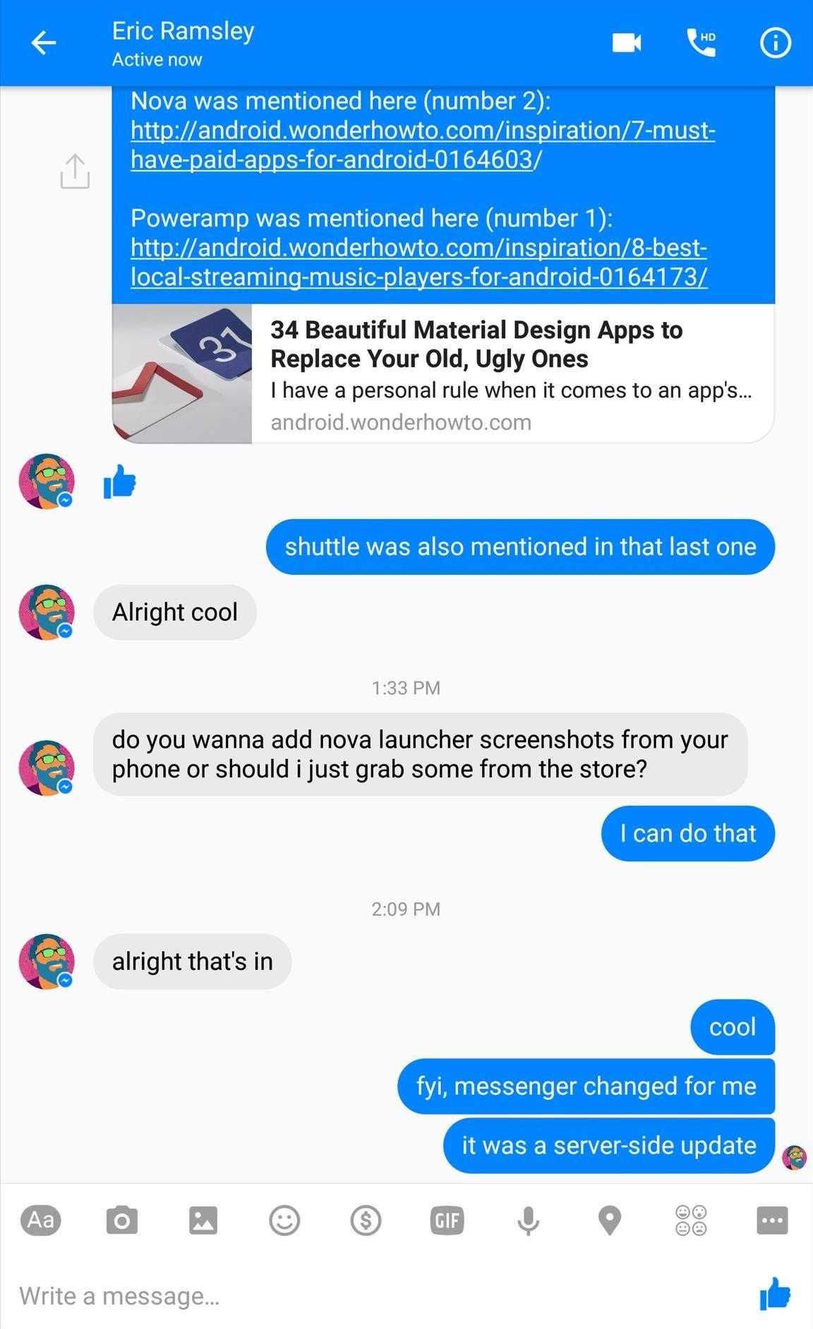 Facebook Messenger App Old Version Android