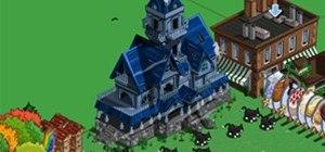 FarmVille Haunted House