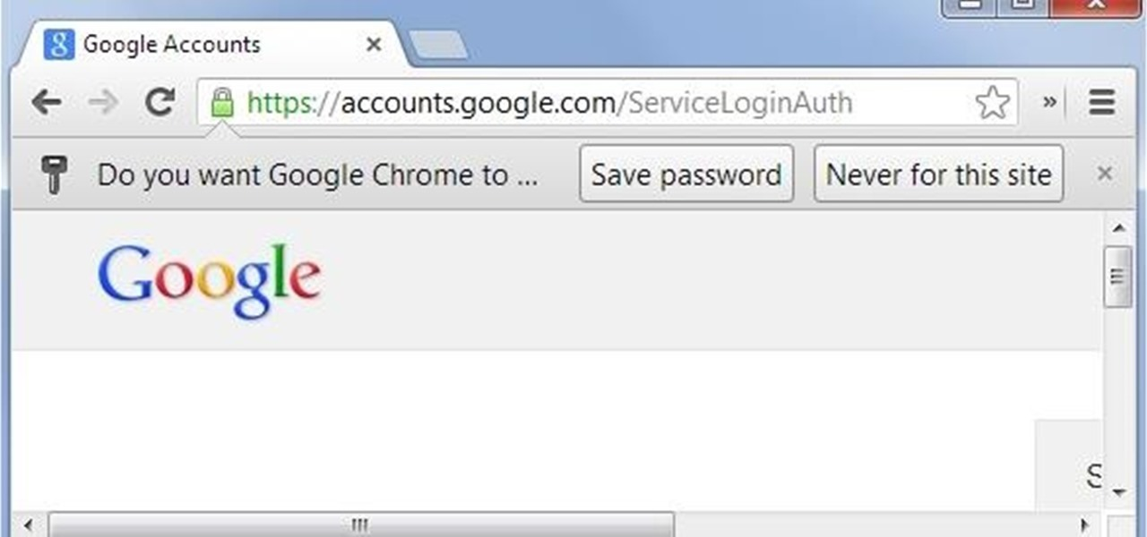 Remote Chrome Password Stealer « Null Byte :: WonderHowTo