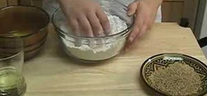 Make traditional Moroccan Ghriba cookies