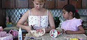 Make a doll cradle with your little girl
