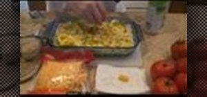 Make a squash and zucchini cheese casserole