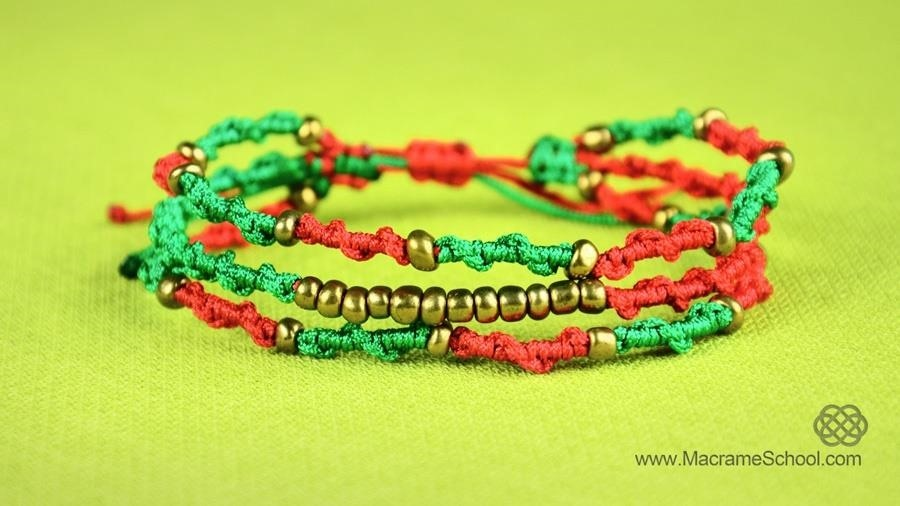 Boho Spiral Bracelet - Tutorial