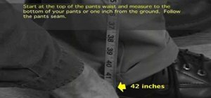 Measure pant length