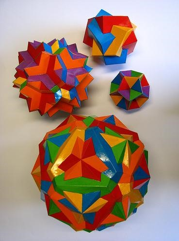 Psychedelic Math Makes for Some Trippy Origami-Art