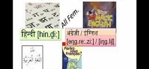Use basic Hindi vocabulary