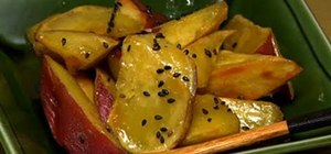 Make Japanese daigakuimo (candied sweet potatoes)